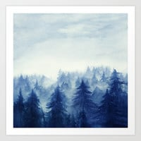 Into The Forest II Art Print by Marco Gonzalez