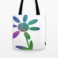 Pretty Petals Tote Bag by Kathleen Sartoris