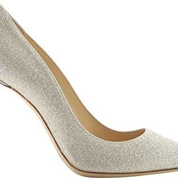 Jimmy Choo Romy 100 Platinum Ice Pump