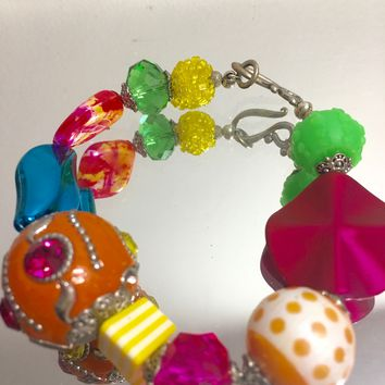Kawaii Colorful Bracelet Beads