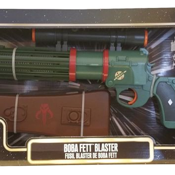 Disney Parks Star Wars Tours Boba Fett Blaster Toy Gun NEW REDESIGN 2015