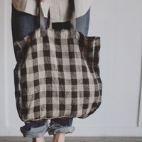 Milk & Paper — Linen tote bag (rupture de stock)