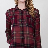 Plaid World Top*