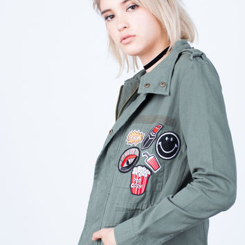 Patch Me Up Denim Jacket