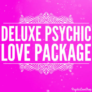Deluxe Psychic Love Package, Psychic Reading, Love Reading, Find love, Romance Reading, Accurate Psychic email or etsy convo reading