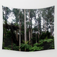 Enchanted Forest Wall Tapestry by Moonshine Paradise