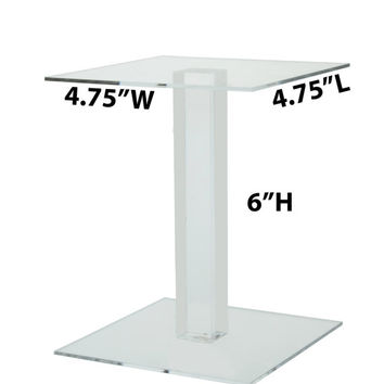 "6"" Square Counter Top Riser"