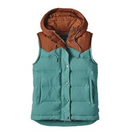 Patagonia Women's Bivy Down Hooded Vest | Drumfire Red
