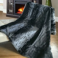 Faux Fur Super Soft Throw High Quality, Shed Free
