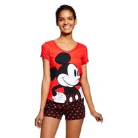 Women's Mickey Mouse PJ Set