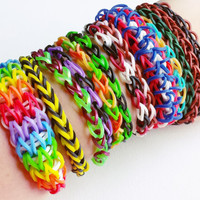 Loom Band Bracelet Pack - Rubber Band Bracelet - Loom Bands - Party Favors for Kids - Party Favors - Loom Bracelet - Party Pack #3