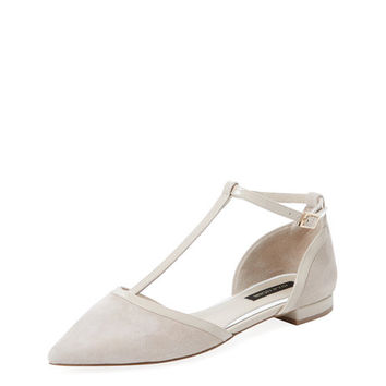 T-Strap Flat by Ava & Aiden at Gilt