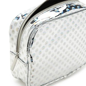 Holographic Dot Makeup Bag