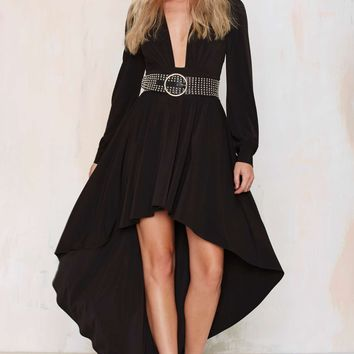 Nasty Gal Flying High Asymmetric Dress