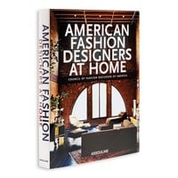 ASSOULINE American Fashion Designers at Home Book