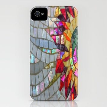 Floral Mosaic iPhone Case by JUSTART | Society6