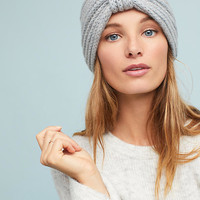 Ribbed Cashmere Wrap Hat