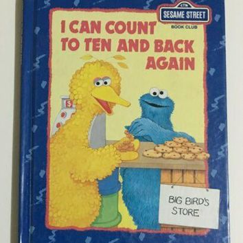 I can count to ten and back again. Sesame Street book club
