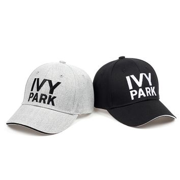 f95493f41aa Trendy Winter Jacket IVY PARK Baseball Cap Beyonce Sporty Style Cotton Hemp  ash Hat Unisex Snapback