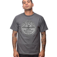 Sun Records Logo T-shirt Charcoal Grey