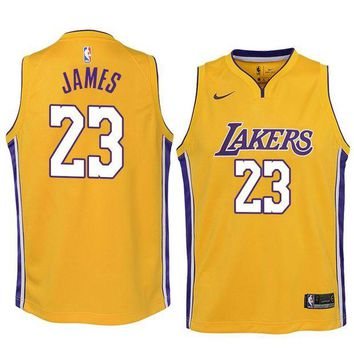 [Free Shipping ]New Arrival #23 LeBron James Lakers jerseys  Lakers Los Angeles