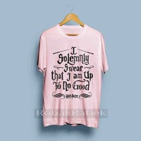 I Solemnly Swear that I am Up To No Good  - High Quality Tshirt men,women,unisex adult