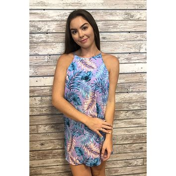 Floral Babe Dress- Lavender