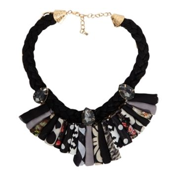 Cara Printed Linear Collar Necklace at Von Maur