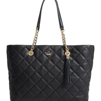 kate spade new york emerson place - priya quilted leather tote | Nordstrom