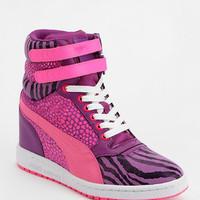 Puma Sky Wedge Reptile High-Top Sneaker - Urban Outfitters