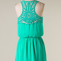 Special Affair Dress - Green - Hazel & Olive