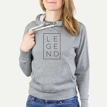 Legend Boxed - French Terry Hooded Sweatshirt