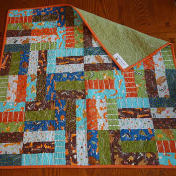 Foxy Baby Quilt - Perfect for baby!