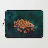 The flower in the Night Laptop Sleeve by minx267