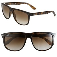 Ray-Ban 'Boyfriend Flat Top Frame' 60mm Sunglasses
