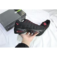 Air Max 95 Black/red Sneaker Shoe | Best Deal Online