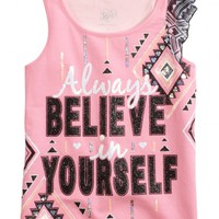 POSITIVE MESSAGE TANK | GIRLS 18 INCH DOLL CLOTHES BEAUTY, ROOM & TOYS | SHOP JUSTICE