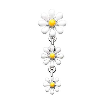 Reversible One Daisy at a Time WildKlass Belly Button Ring
