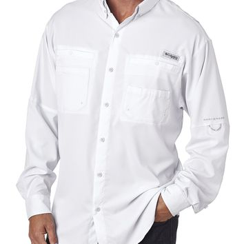 Columbia Men's Tamiami™ II Long-Sleeve Shirt - White