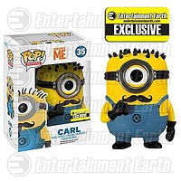 Despicable Me 2 Mustache Carl Pop! Vinyl Figure