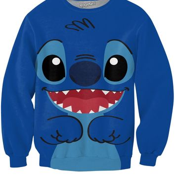 Stitch Crewneck Sweatshirt
