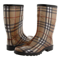 Burberry Haymarket Mid Rainboot