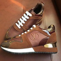 LV Louis Vuitton Woman Trending Casual Sneakers Comfortable Shoes I