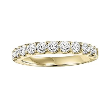 Cherish Always 14k Gold 1-ct. T.W. Round-Cut Diamond Wedding Ring (White)