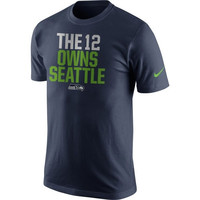 12th Fan Seattle Seahawks Nike Player Owns T-Shirt – College Navy
