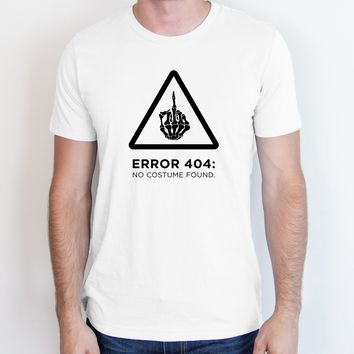 Error 404: No Costume Found Tee