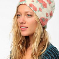 Urban Outfitters - Coal Josie Floral Beanie Hat