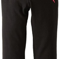 PUMA Girls 2-6X Little Foldover Printed Waist Yoga Pant