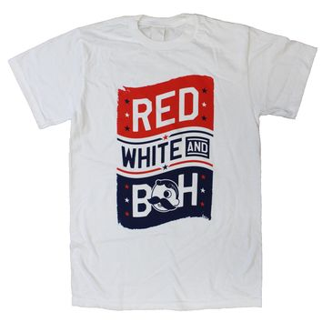 Red, White, & Boh (White) / Shirt