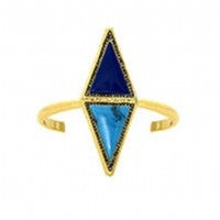 House of Harlow 1960 Jewelry Isosceles Reflection Cuff